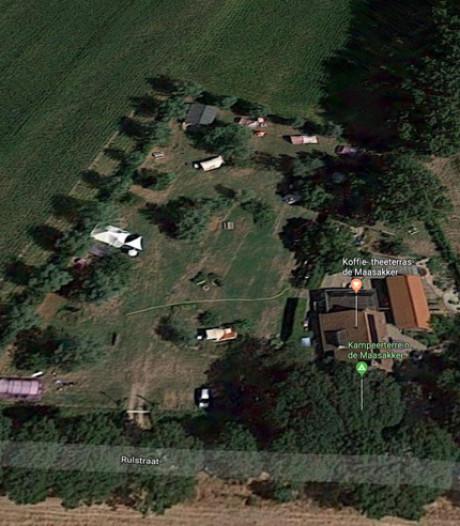 Oss in de fout met parkeer-  en kampeerplaatsen van natuurcamping Megen