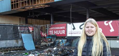 Alerte Iris (12) is de held van de dag in Zwolle: 'Ik keek uit het raam en toen zag ik een heel groot vuur'