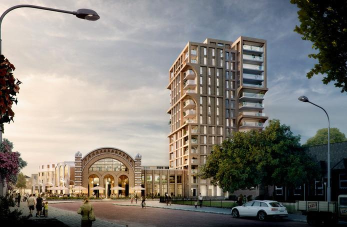 Het splinternieuwe ontwerp van DOK Architecten.