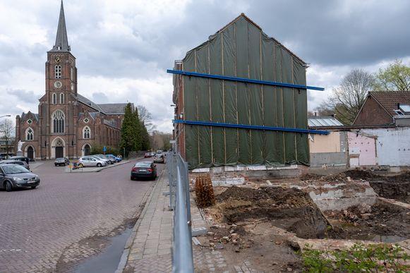 RUMST Archeologen legden de restanten van een middeleeuwse burcht bloot in de Kerkstraat