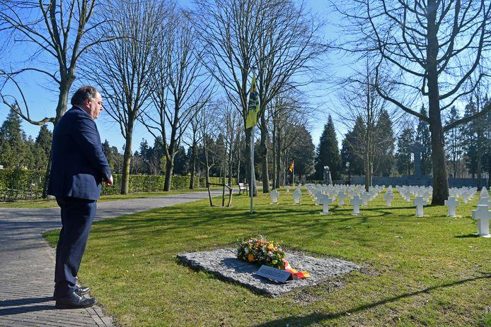 Op 5 april zelf dit jaar was ook enkel de burgemeester aanwezig op het herdenkingsmoment, omwille van corona.