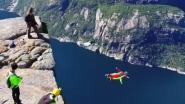 Sprongetje wagen met adembenemende vrije val van één kilometer? Het kan in Noorwegen