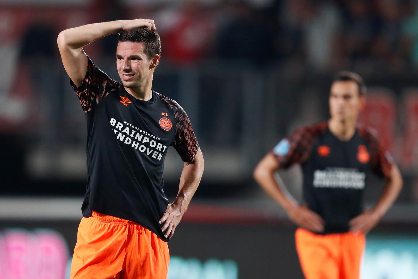 Nick Viergever baalde van het gelijkspel tegen FC Twente.