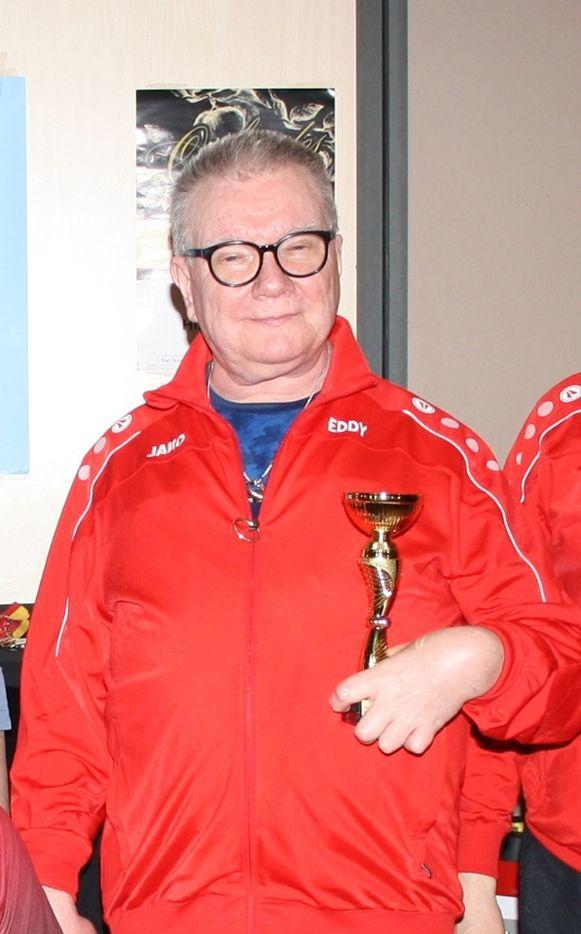 Eddy De Meester was heel graag gezien in de Tafeltennisclub Zele, waar hij recent nog een recreatief tornooi won.
