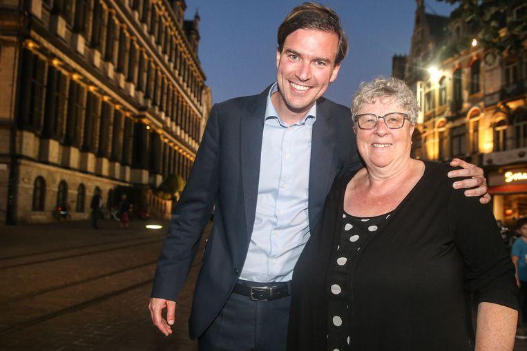 Mathias De Clercq van Open Vld is niet van plan Mieke Van Hecke van CD&V te dumpen