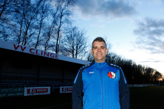 Clinge-coach Mario Vermeirssen.