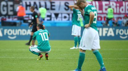 De vloek van de wereldkampioen: Duitsland verliest van Zuid-Korea en verlaat WK-toneel voor het eerst in de groepsfase