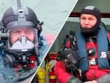 Leo is de oudste brandweerduiker van Nederland