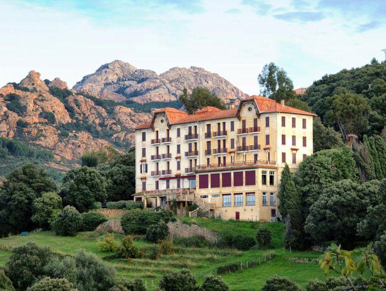 'De ideale plek om uit te rusten.' Beeld Hotel Les Roches Rouges Piana