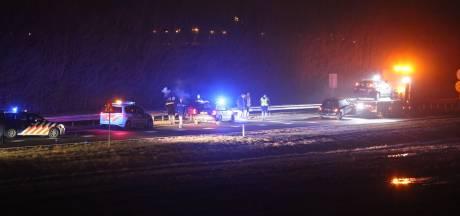 Ongeluk op N36 in Vriezenveen: weg tijdelijk afgesloten