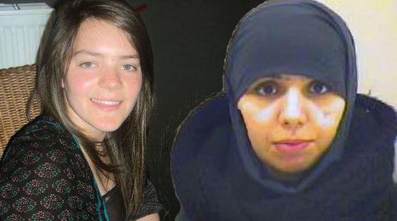 Archieffoto van Tatiana Wielandt en Bouchra Abouallal.