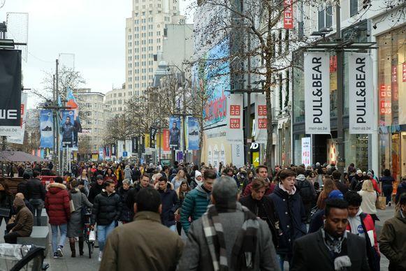 De Meir in Antwerpen.
