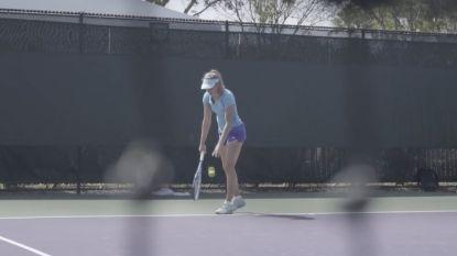 Blik achter de schermen: Elise Mertens in Miami