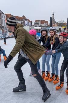 Best gek: schaatsen in je T-shirt