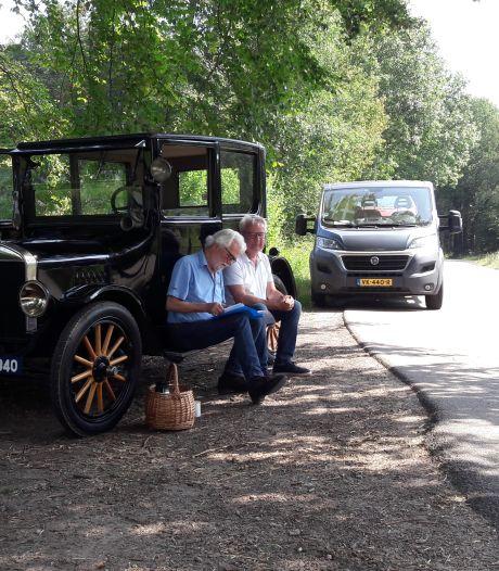 Tornadojagers na 95 jaar met de T-Ford naar Borculo: 'respect voor opa Jurriëns'