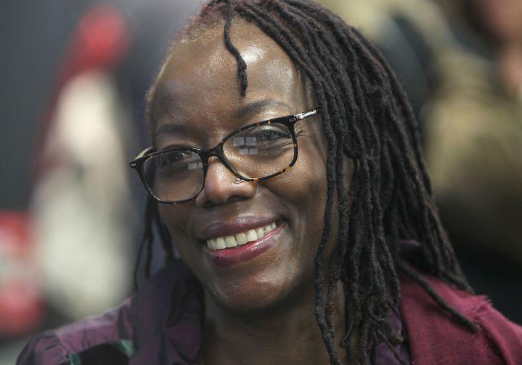 Tsitsi Dangarembga: 'In Zimbabwe zijn uitgevers zwarte mannen. Zij denken dat vrouwen niet kunnen schrijven.' Beeld AFP