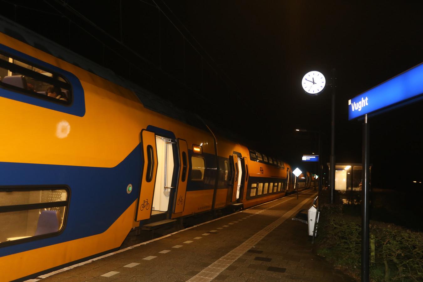 Vertraging na aanrijding op spoor bij Vught
