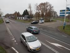 Verkeerslichten als tijdelijke maatregel tegen 'gevaarlijke' N35 in Haarle