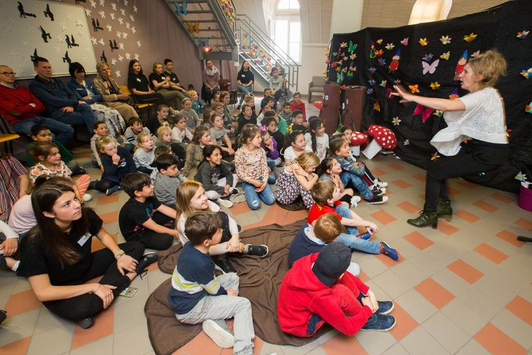 Vertelfestival in campus de Helix in Maasmechelen