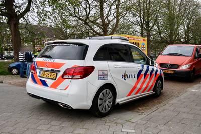 Botsing in Breda, veroorzaker rijdt door
