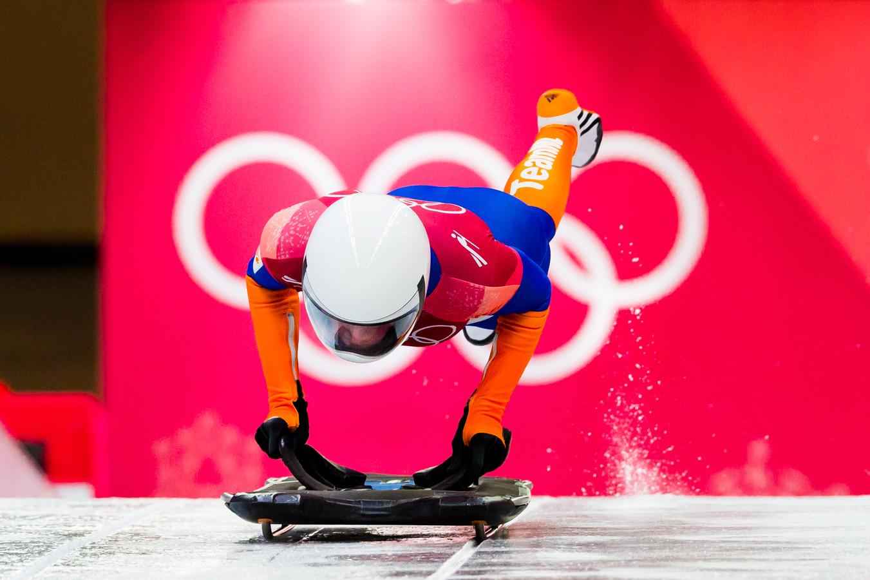 Kimberley Bos heeft op de Olympische Spelen 2018 in Pyeongchang de achtste plaats behaald op de skeleton.