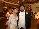 """Organisator Tatiana Chevtchouk en voorzitter Hedde Zeijlstra: """"Volgend jaar doen we Beethoven."""""""