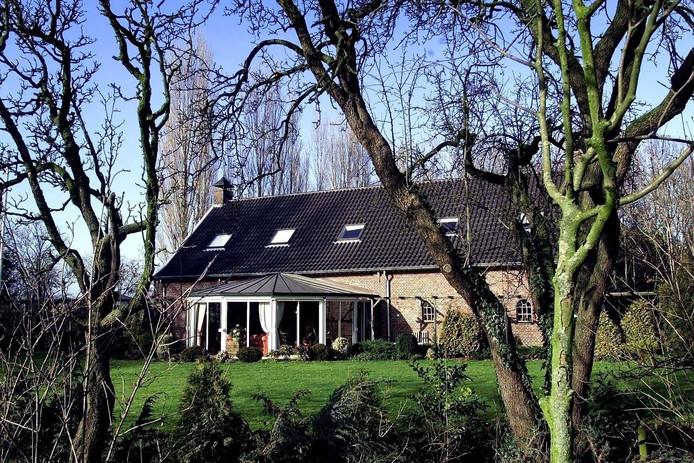 De woning van Corrie van der Valk in Nederasselt.