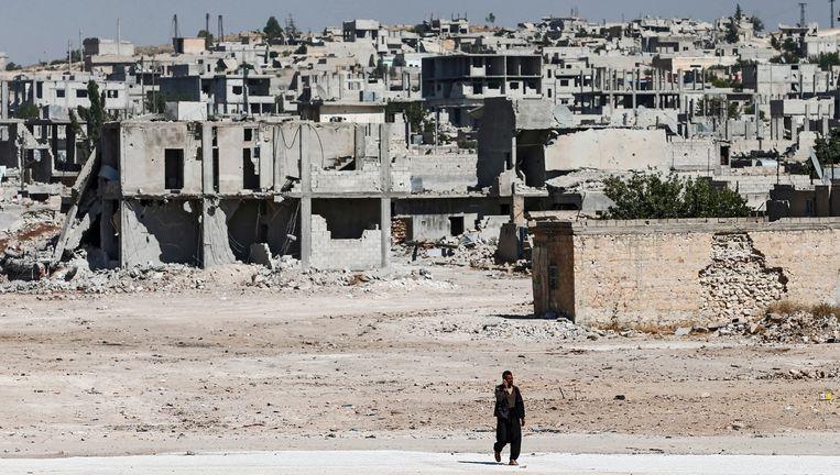 Vluchtelingen waren nog maar pas beginnen terugkeren naar het door bij vorige gevechten zwaar toegetakelde Kobane.