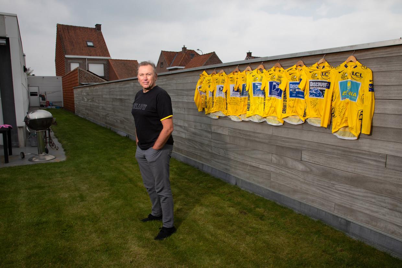 Johan Bruyneel was wielrenner, maar is vooral bekend geworden als ploegleider van US Postal, waar hij lance Armstrong onder zijn hoede had. Beeld Clemens Rikken/Hollandse Hoogte