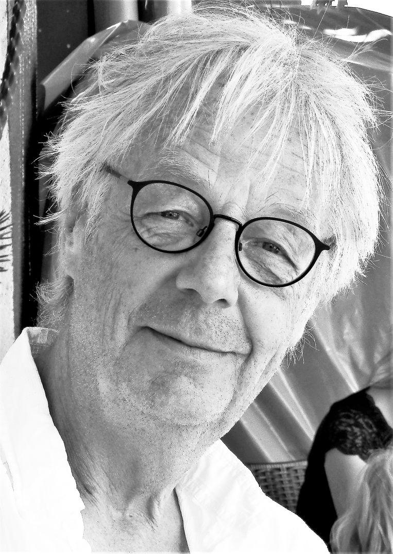 Jaap Kranenborg. Auteur, schrijft columns voor onder andere Het Vogeljaar. Beeld