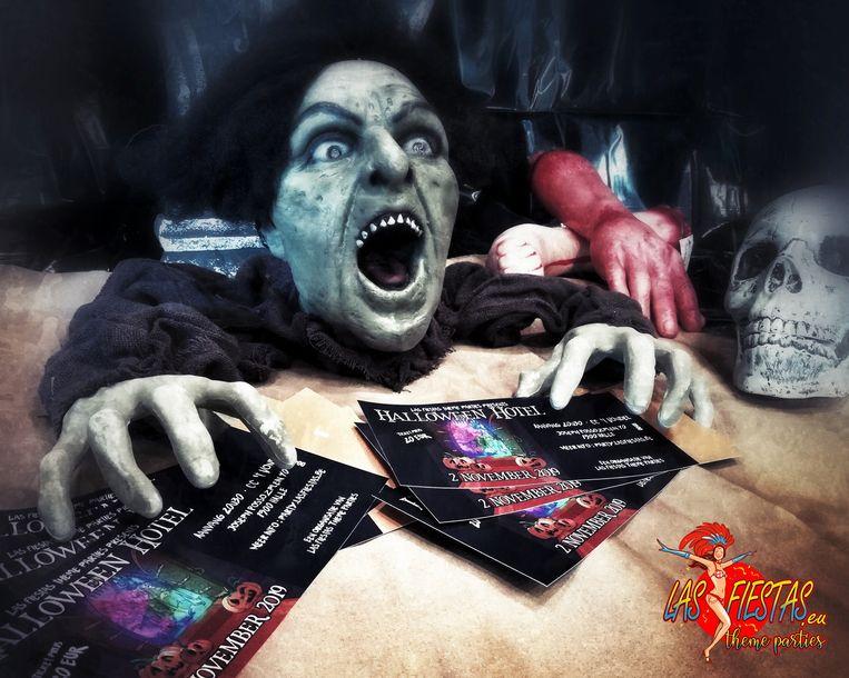 Las Fiestas en Halattraction organiseren Halloween Hotel in 't Vondel