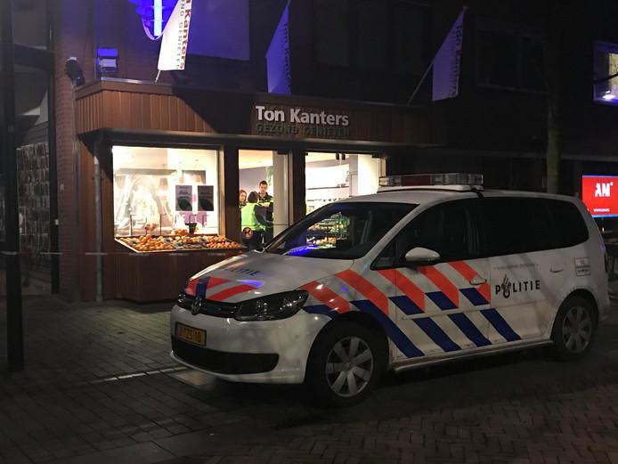 Groentewinkel Ton Kanters in Schijndel werd op dinsdag 5 december 2017 overvallen