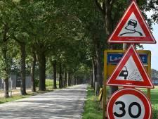 Landweggetjes dicht wegens asfalteringswerkzaamheden