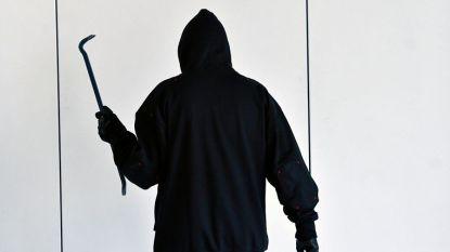 Gemaskerde inbrekers vluchten weg nadat tiener ze betrapt