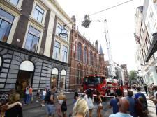 Brandweer rukt uit voor rooklucht bij Statenzaal in centrum Zwolle