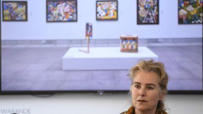 Deurwaarders vallen binnen op persconferentie directrice Gents museum