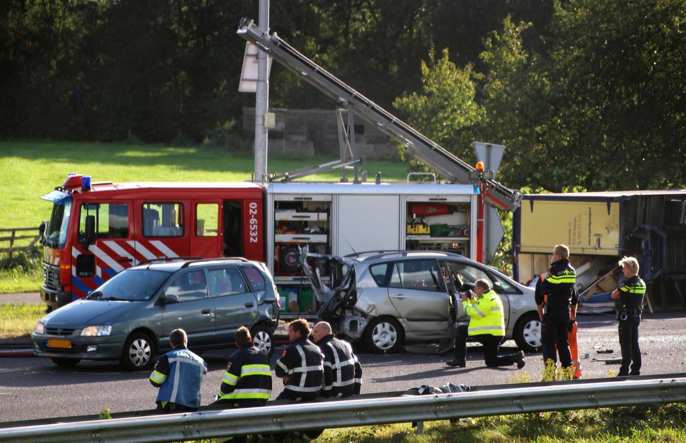 De verkeersongevallenanalyse doet nader onderzoek naar de precieze toedracht.