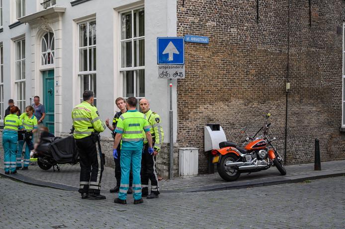 Snorfietser gewond in Breda centrum.