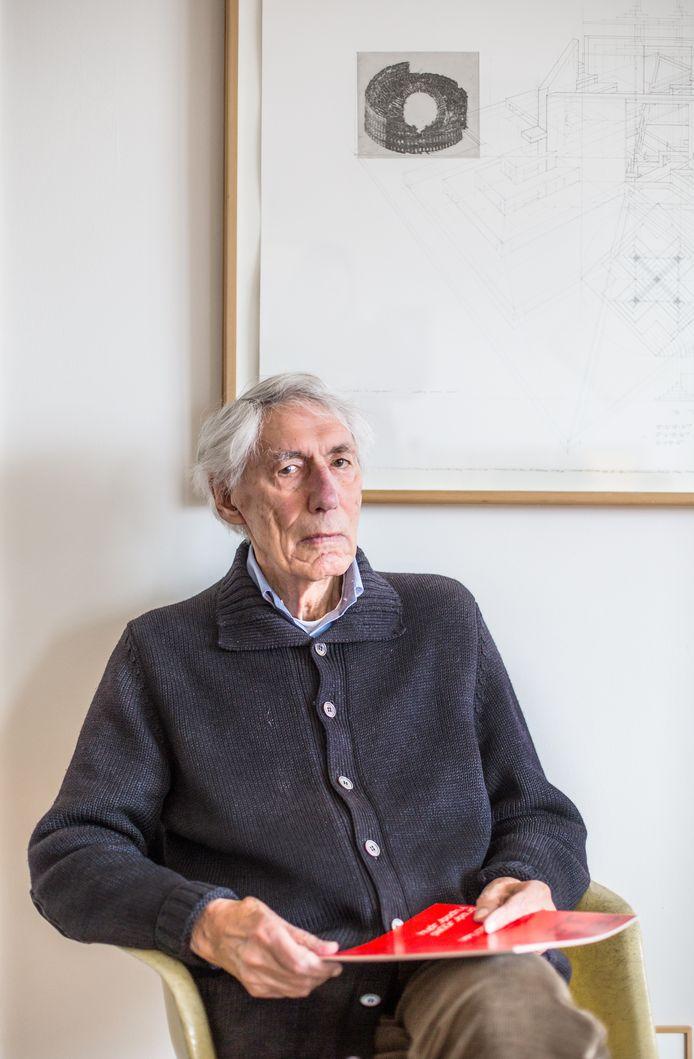 Wim Crouwel in 2015.