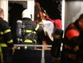 Korte, hevige brand in appartementencomplex Bergen op Zoom, niemand raakt gewond