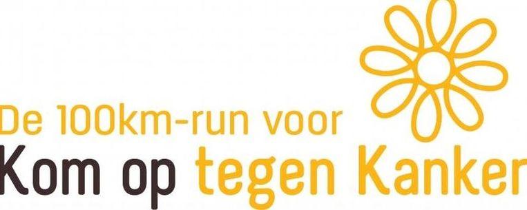 Het logo van de 100 km-run