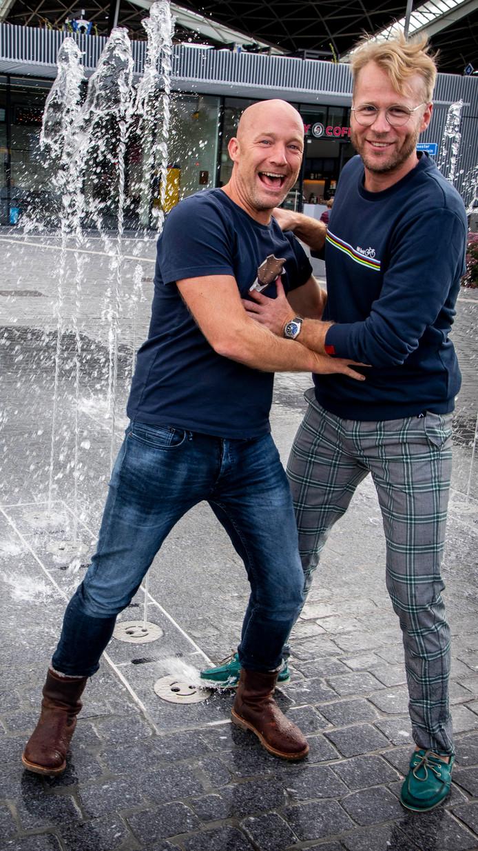 Jochen Otten en Leo Alkemade