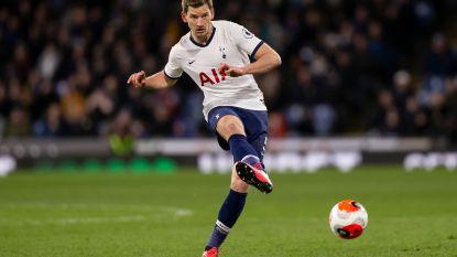 Mourinho hoopt dat Vertonghen contract wil verlengen tot eind dit seizoen, Rode Duivel aanvaardde voorstel van Spurs nog niet