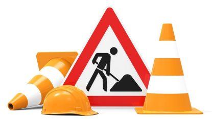 Grote Langvoort deels afgesloten voor verkeer door werken