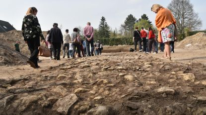 Opgegraven Romeinse weg lokt veel kijklustigen