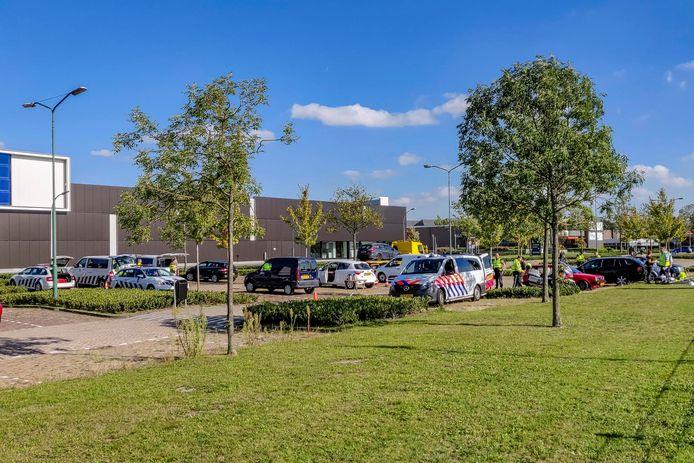 Verkeerscontrole in Waalwijk.