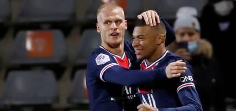 Mbappé twee dagen na winnende goal in Kroatië ook belangrijk in Nîmes