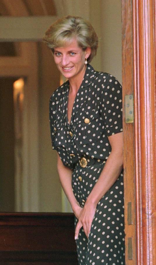 Diana in maart 1997.