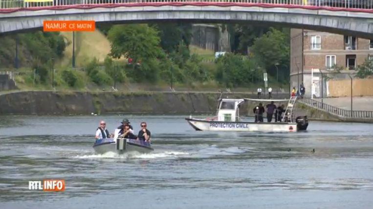 De Civiele Bescherming en de Cel Vermiste Personen zochten met boten naar het lichaam.