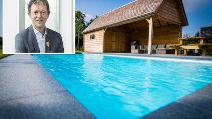 """Frank Deboosere: """"Wie een zwembad vult met drinkwater, zou daarvoor een paar duizend euro extra moeten betalen"""""""
